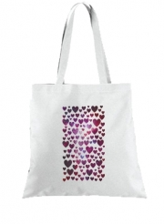 Tote Bag Space Hearts