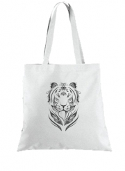 Tote Bag Tiger Feather