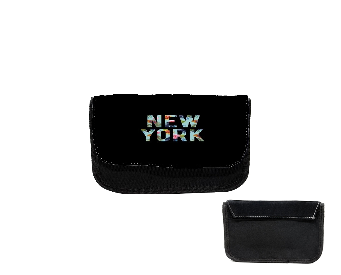 Pencil case New York Floral