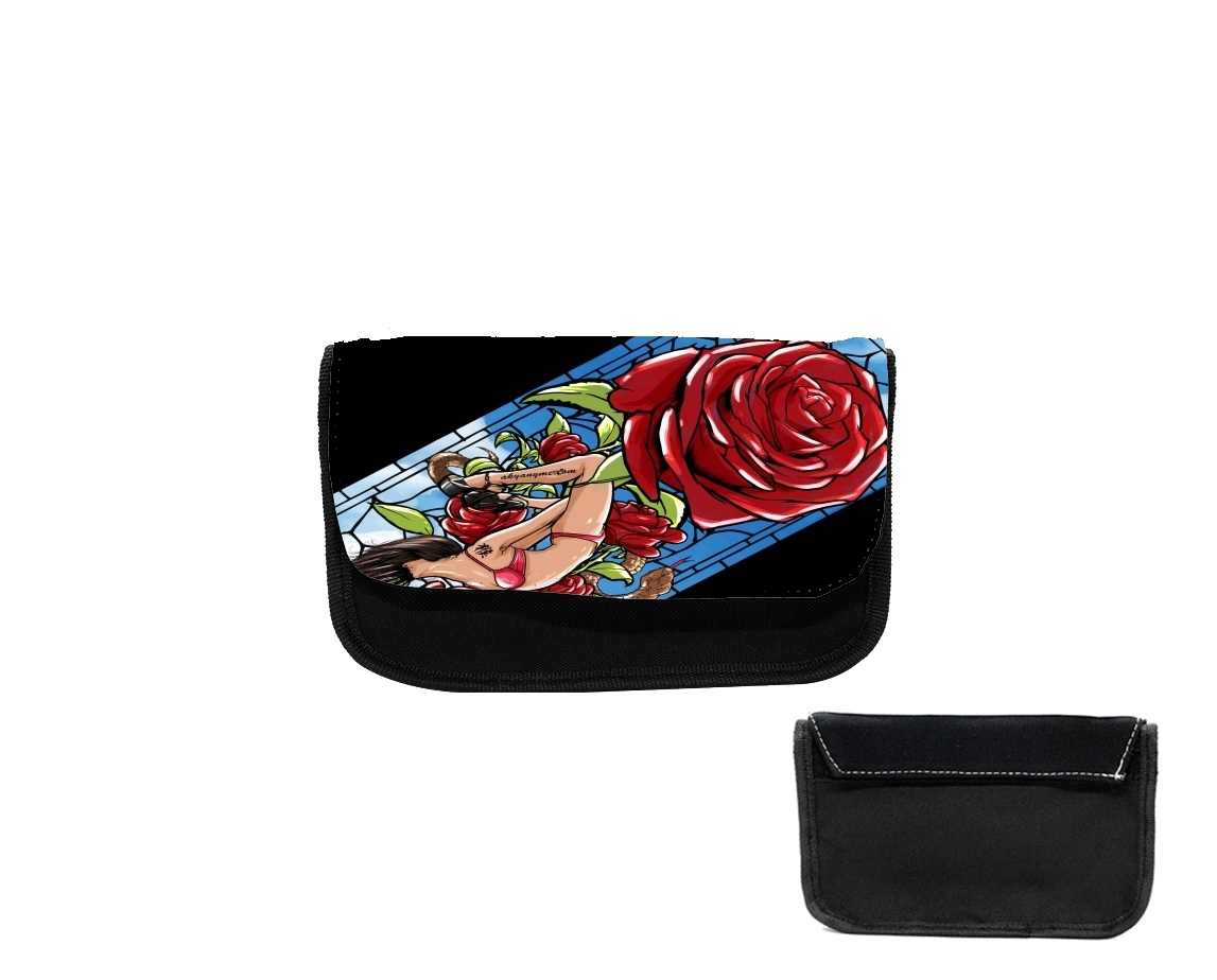 Pencil case Red Roses