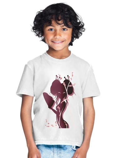 T-Shirt Boy Akiko asian woman