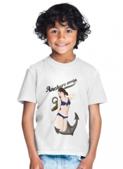 T-Shirt Garçon Anchors Aweigh - Classic Pin Up