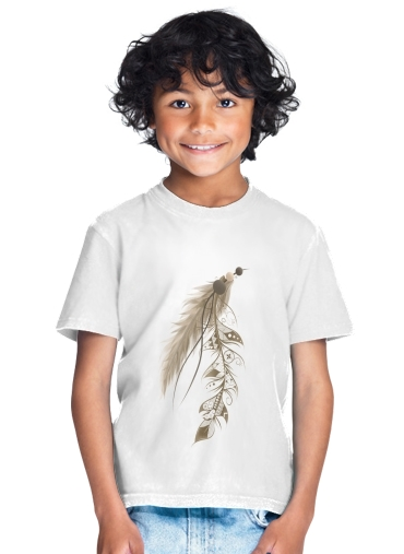 T-Shirt Garçon Boho Feather