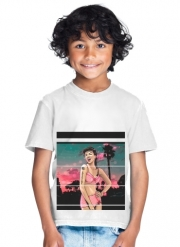T-Shirt Garçon California Girl retro