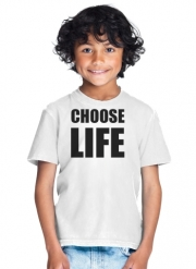 T-Shirt Garçon Choose Life