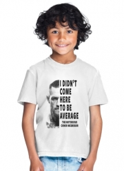 T-Shirt Garçon Conor Mcgreegor Dont be average