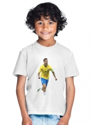 T-Shirt Garçon coutinho Football Player Pop Art
