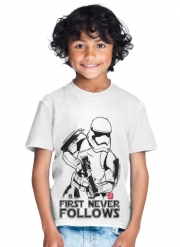 T-Shirt Boy First Never Follows