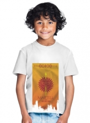 T-Shirt Garçon Flag House Martell