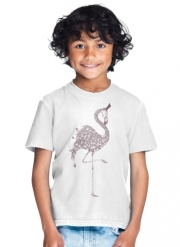 T-Shirt Boy Flamingo