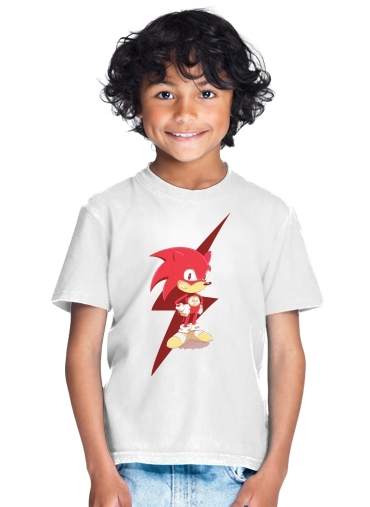 T-Shirt Garçon Flash The Hedgehog