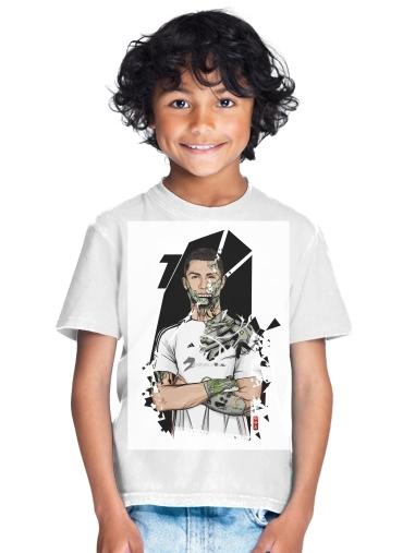 competitive price bdeec 789f4 T-Shirt Boy Football Legends: Cristiano Ronaldo - Real Madrid Robot white -  Kids