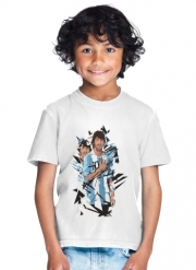 T-Shirt Garçon Football Legends: Lionel Messi Argentina