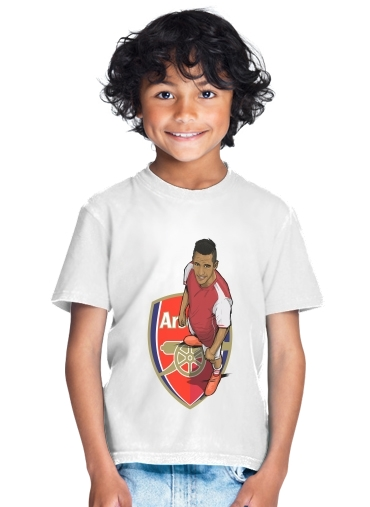 T-Shirt Boy Football Stars: Alexis Sanchez - Arsenal