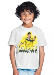 T-Shirt Boy Football Stars: James Rodriguez - Colombia
