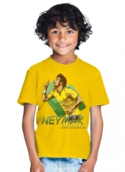 T-Shirt Boy Football Stars: Neymar Jr - Brasil