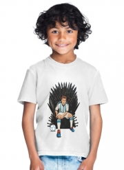 T-Shirt Boy Game of Thrones: King Lionel Messi - House Catalunya