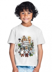 T-Shirt Garçon Grand Theft Mario