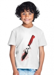 T-Shirt Boy Hell-O-Ween Myers knife