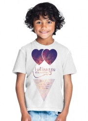 T-Shirt Garçon I will love you