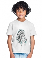 T-Shirt Garçon Indian Headdress