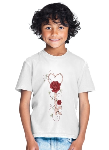 T-Shirt Garçon Key Of Love