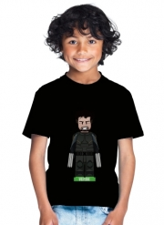 T-Shirt Boy Lego: X-Men feat Wolverine