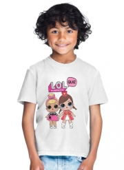 T-Shirt Garçon Lol Surprise Dolls Cartoon
