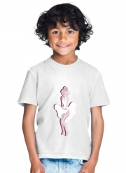 T-Shirt Garçon Marilyn pop