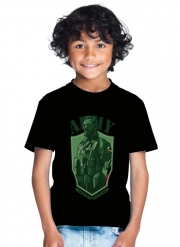 T-Shirt Boy MGS Phantom Pain Army Men Big Boss Diamond Dogs