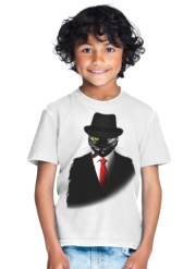 T-Shirt Garçon Mobster Cat