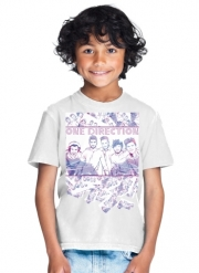 T-Shirt Garçon One Direction 1D Music Stars