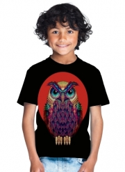 T-Shirt Boy Owls in space