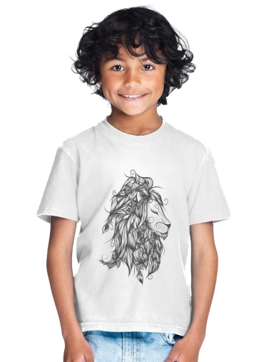T-Shirt Garçon Poetic Lion