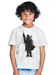 T-Shirt Garçon Post Apocalyptic Warrior