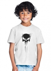 T-Shirt Garçon Punisher Skull
