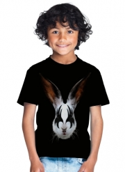 T-Shirt Boy Kiss of a rabbit punk