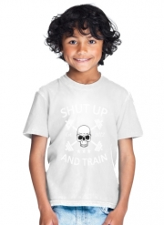 T-Shirt Garçon Shut Up and Train