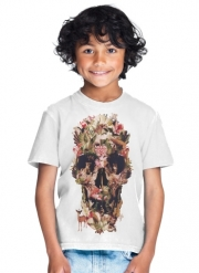 T-Shirt Garçon Skull Jungle
