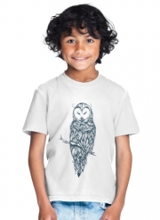 T-Shirt Boy Snow Owl