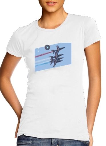 T-Shirts Alpha Jet Dassaut Avion Patrouille de France