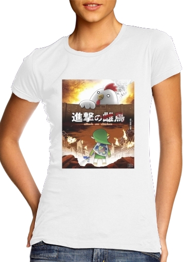 T-Shirts Attack On Chicken