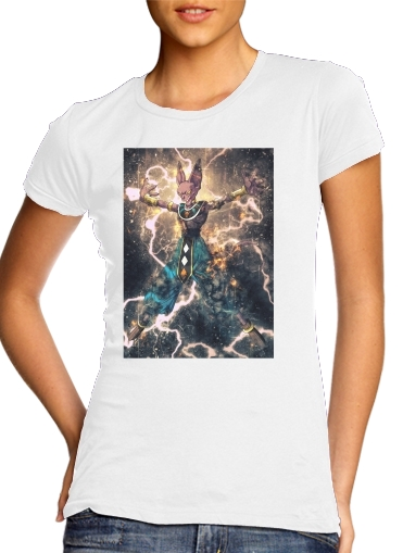 T-Shirt Manche courte cold rond femme Beerus