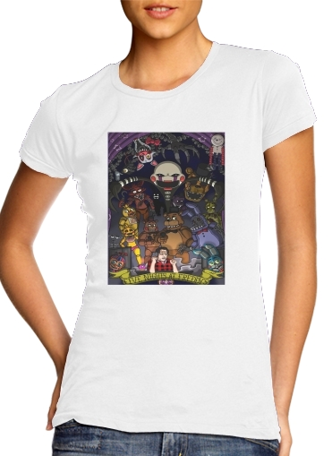 T-Shirts Five nights at freddys