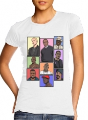 T-Shirt Manche courte cold rond femme Hip Hop Legends