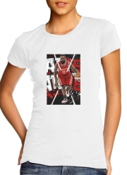 T-Shirt Manche courte cold rond femme James Harden Basketball Legend