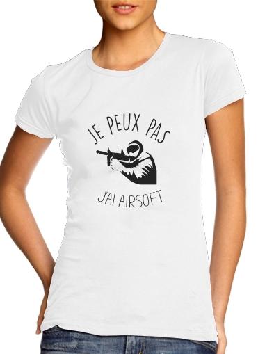 T-Shirts Je peux pas jai Airsoft Paintball