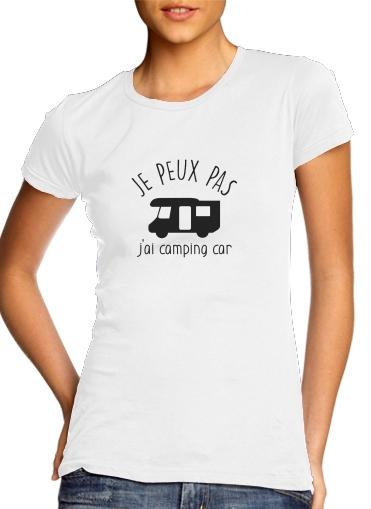 T-Shirts Je peux pas jai camping car