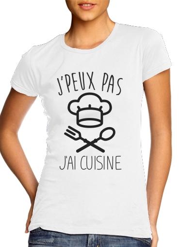 T-Shirts Je peux pas jai cuisine