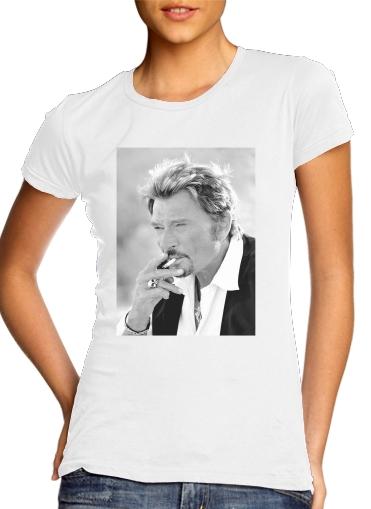 T-Shirts johnny hallyday Smoke Cigare Hommage